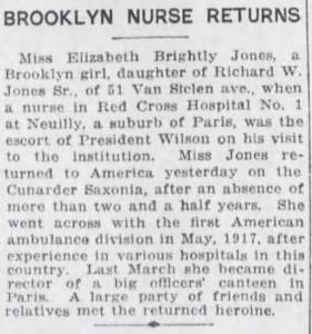 Jones_ElizabethBrightly_Nurse_BrooklynDailyEagle_22Dec1919_Crop