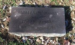 Ayres_EstellaM_grave_1946_MountHollyCemetery