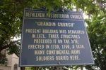 Bethlehem Presbyterian Church marker