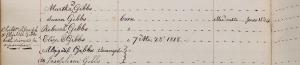 Gibbs_JosephN_disownmentduetoseparationofwholefamilyMountHollyMonthlyMtg_May_1835_crop