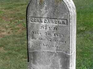 Brown_John_Dusenbury_grave_1875