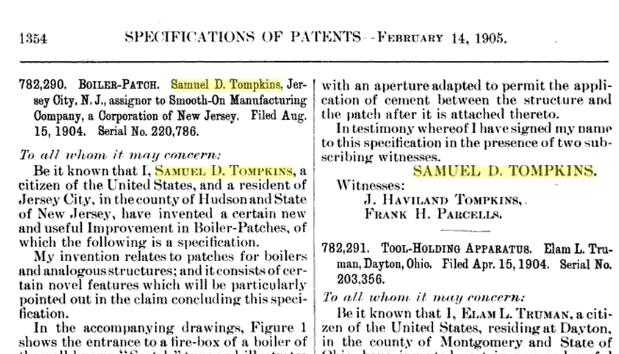 Tompkins_Samuel_boilerpatch_patent_1905