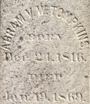 Tompkins_AbrahamVW_gravemarker