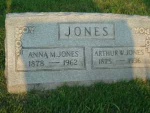 Jones_Arthur_gravestone_1936