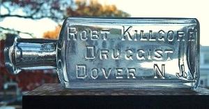 Kilgore, Rob't. Druggist, Dover, NJ med (2)