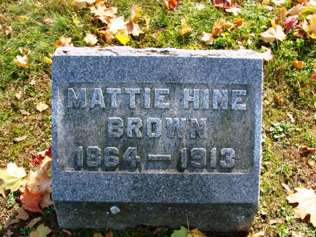 Brown_Martha_Hine_TiogaPtCemetery_1913
