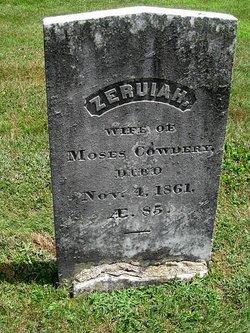 Cowdrey_Zeruiah_gravestone_1861